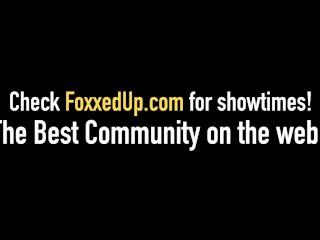Black Beauty Jenna Foxx & Ryan Riesling Suck A Hard Dick In The Bathtub!