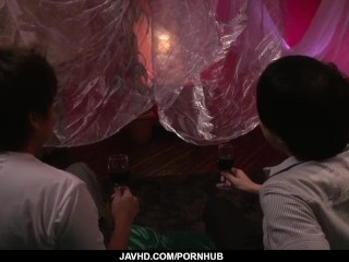 Wonderful sexual experience for Japanese Eri Inoue