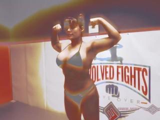 jasmeen LaFleur hard nude mixed wrestling vs newcomer for sex