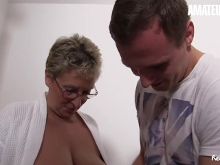 AmateurEuro - Busty German Cougar Fucked Hard By Her Nephew