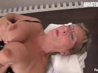 Amateureuro Busty German Cougar Fucked Hard By Her Nephew