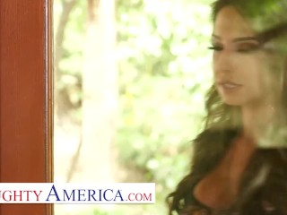naughty america - trinity st. clair gives it to her best friend's husband