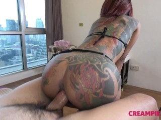 Cute Asian whore pounded deep by Japan dude