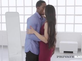 privateblack - krazy asian katana gets big black cock pounded