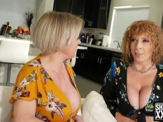 How to ride dick tutorial with Sara Jay and Dee Williams