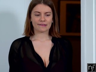 nf busty - hot brunette with perfect curves and big boobs s9:e2