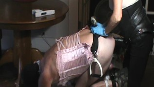 Submissive Husband Pegging Texas Style