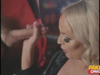 Fakehub 80S Video Porn Fun With Big Boobs Blonde And Big Facial