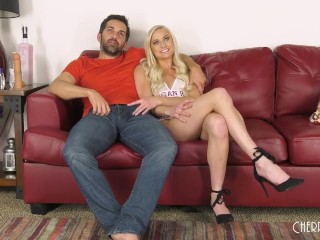 Incredible Blonde Morgan Rain Gets Fucked Well In Her Pink Puss