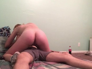 Late night sex with babe