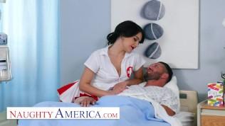 Naughty America - Naughty Nurse Valentina gives special care