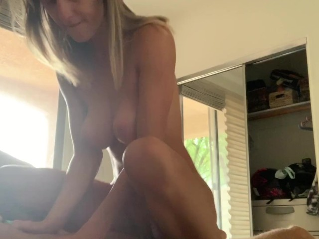 Homemade Teen Riding Pov
