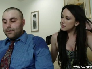 hubby likes to watch wifey good fuck
