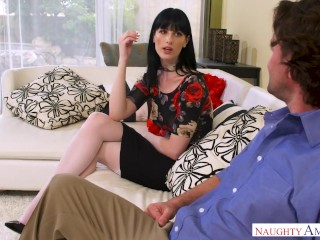 naughty america alex harper hot fucking in the couch