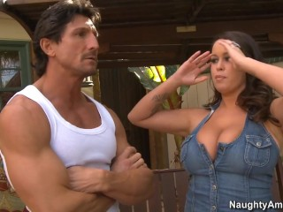 naughty america brandy talore hot fucking in the bed
