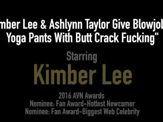 Horny Naughty Girl Next Door Kimber Lee Slobbers & Sucks On Your Cock!