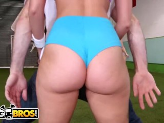 Brunette/straight sex/fun with bangbros booty big