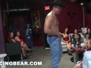DANCINGBEAR - Big Dick Male Strippers Sling Dick In Womens Faces