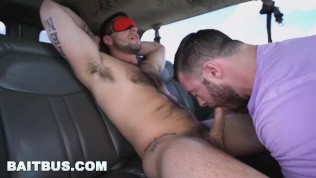 BAITBUS - So Much Muscle & Testosterone In One Van, Holy Fuck