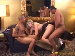 Crazy bbc Anal Threesome with Keria Sage