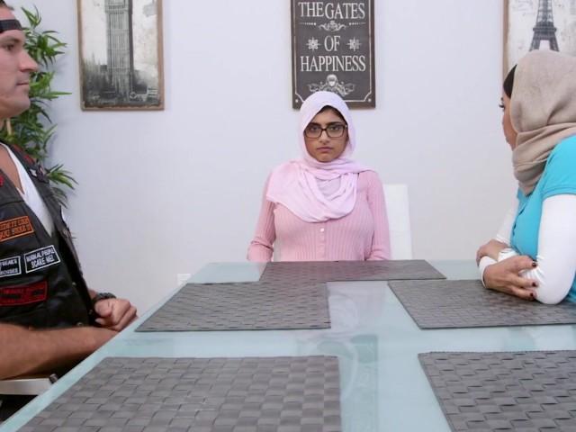 Hot Arab Wife Threesome