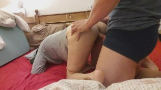 Her tight vagina is so delicious! Fucking young expat in multiple positions