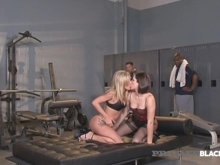 Private Black - Amy Brooke, Carla Cox & Bobbi Starr Fuck 3 Hung Studs!