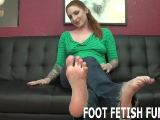 POV Feet Porn And Femdom Foot Worshiping Videos