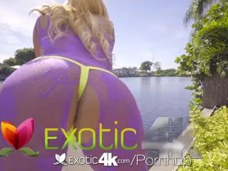 EXOTIC4K Big Booty Anal Twerking On Big Dick
