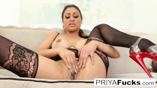 Priya Rai pleases her sexual urges