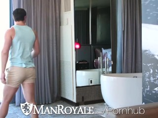 ManRoyale Hunks Take Clothes Off After Broken Air Conditioner Stopped