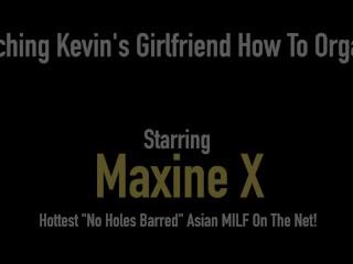 Cambodian Cougar Maxine X Teaches Skylar Harris How To Orgasm!