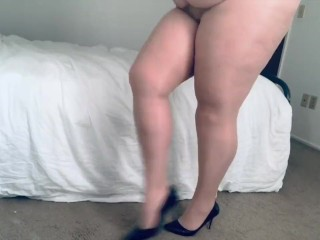 Heels/high and and nylons in