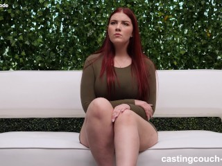 redhead pawg gets fucked by her first big cock