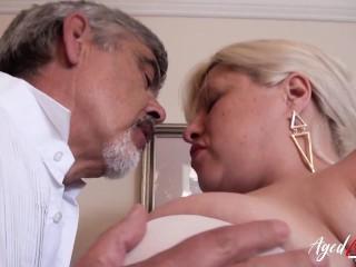 Agedlove Busty Mature Providing Blowjob