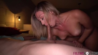 cuck older husband shares slut wife addison with young stud