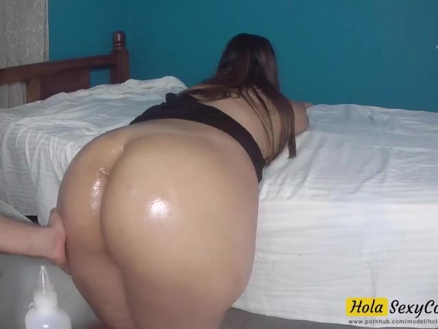 Thick Latina Fucking Work
