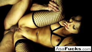 Ring-light Anal with Toni Ribas and Asa