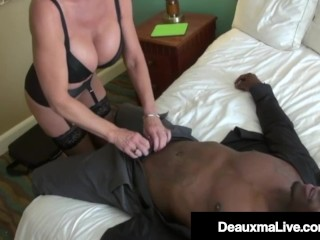 Mommy Gets A Big Black Cock