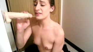 Disobedient Teen Learns What Face Fucking Is *EXTREME SPIT & GAGGING*