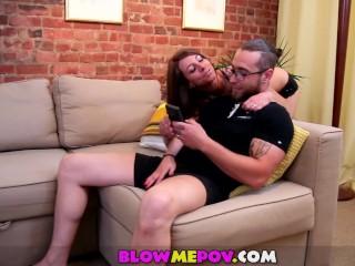 Blow Me POV - Girls Next Door Sucking Nice Cocks