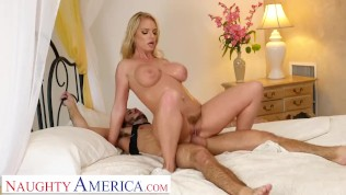 naughty america - rachael cavalli plays with a son's good friend