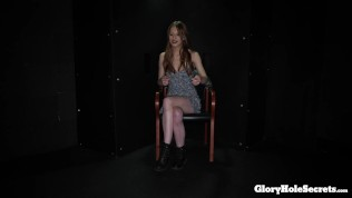 skinny jillian blows 10 strangers cocks in the gloryhole