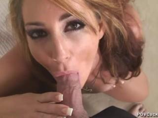 Cuckold femdom savannah fox hot cuckold creampie eating chastity femdom sex