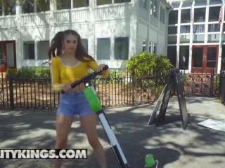 Reality Kings - Petite spinner Sofie Reyez craves big dick