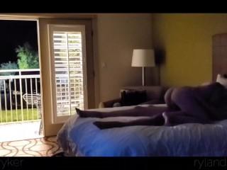 Hotel Sex with Door Open