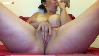 Hot milf with huge...