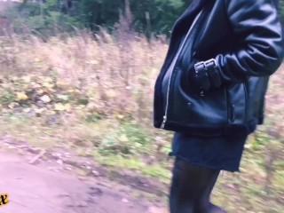 Бомж трахнул скромницу Homeless man fucked an escort girl - RedFox/Red Fox