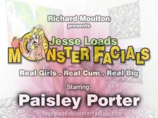 petite blonde paisley porter sucks big cock and gets a facial trailer