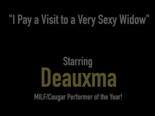 Hot Big Boobed Cougar Deauxma Pity Pleases Brooke Tyler's Juicy Wet Pussy!
